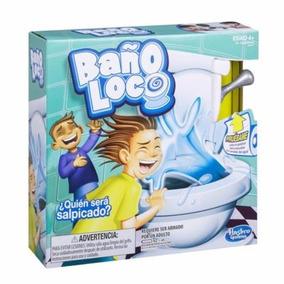 Baño Loco Juego De Mesa Original De Hasbro