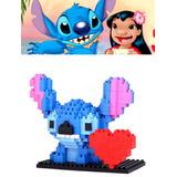 Figura Para Armar Con Mini Bloques De Stitch Envio Gratis