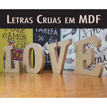 Letras Em Mdf15mm Nomes Decoração Festa Aniversario