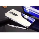 Capa Capinha Bumper Espelhada Motorola Moto G4 / G4 Plus Top