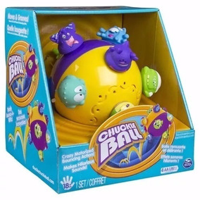 Chuckle Ball Pelota Saltarina Gatear Chuckleball Spinmaster