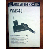 Akg Wms 40 Manual De Usuario