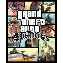 Cd \ Dvd Game Pc Grand Theft Auto Gta San Andreas