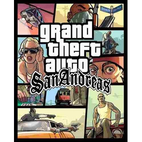 Cd \ Dvd Game Pc Grand Theft Auto Gta San Andreas