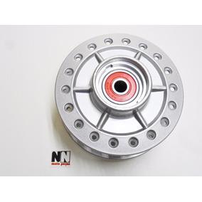 Cubo Roda Dianteira Nxr 150 / 160 Bros Disco + Raios Cromado