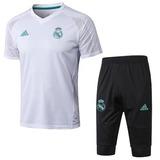 7c595aae5d4a9 Conjunto Treino Real Madrid Shorts+camisa Original Promoção