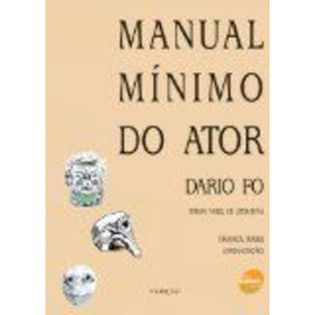 Livro Manual Mínimo Do Ator Dario Fo