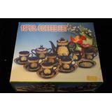 Juego De Tazas Chinas 15 Piezas En Caja Original Cafe O Te
