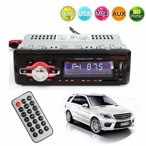 Auto Rádio Mp3 Player Element Rádio Fm/sd/usb 4x 50w