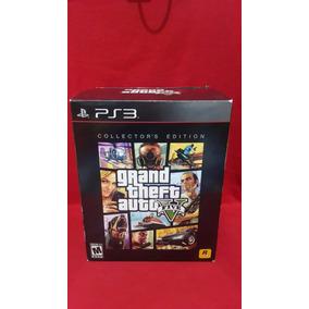 Grand Theft Auto V Collectors Edition Ps3 Nuevo Sellado