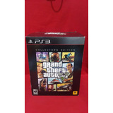 Grand Theft Auto V Collectors Edition Ps3 Nuevo Sellado