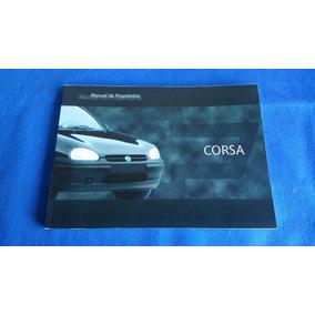 Manual Proprietário Chevrolet Corsa Ano Modelo 1999
