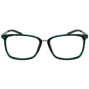 Armação Oculos Oval Preto Pequeno Aço Inox Prata Super Leve. São Paulo · Armação  Oculos Grau Polaroid Original 187068552a