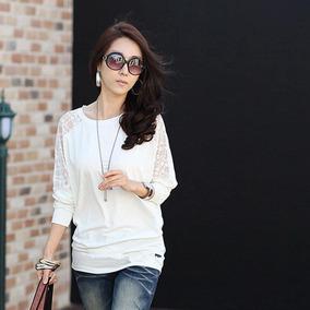 Polera Basica Blanca Ideal Para El Complemento De Tu Vestir