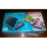 Nintendo New Nintendo 2ds Xl Azul Turquesa Con Mario Kart 7
