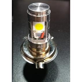 Lampada Farol Led H4 Moto Carro 8000k Super Branca