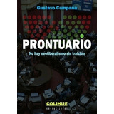 Prontuario - Gustavo Campana - Libro