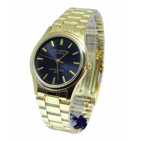 3342b5c4b7 Relogio Atlantis Preto - Relógio Feminino no Mercado Livre Brasil