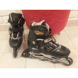 Rollers Patines Extensibles Profecionales Abce-7 Gold´s