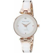 Reloj Anne Klein Ak1980wtrg Oro Rosa Original Envío Gratis