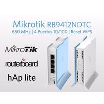 Mikrotik Rb9412ndtc, Routerboard Hap Lite 4 Puertos