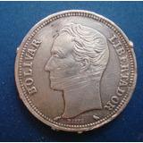 Moneda De Plata De 2 Bolivares Año: 1965 10 Gramos Ley 835