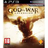 Juego God Of War Ascension Ps3 Fisico Nuevo Original