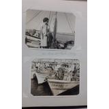 Lote Fotos Antiguas Mar Del Plata 1972 Puerto Mdq Barcos
