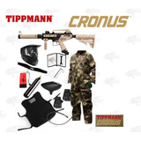 Marcadora Tippmann Cronus Desert Tan Gotcha Paintball Xtreme