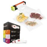 Sellador Al Vacío Alimentos Y Vinos B-fresh Kit 25 Bolsas