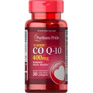 Complejo Coq10 Alta Absorción Coenzima 400mg 30 Capsulas