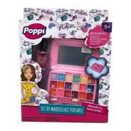 Set De Maquillaje Infantil Portable Poppi Ar1 S22633 Ellobo