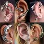 Ear Cuff Piercing Arete Gotico Vintage Joyeria Emo