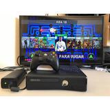 Xbox 360 Slim Con Juegos 500gb 76 Juegos
