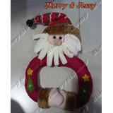 Guirlandas De Natal Luxuosa Papai Noel