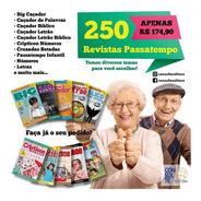 Kit 250 Revistas Passatempo Diversos Temas
