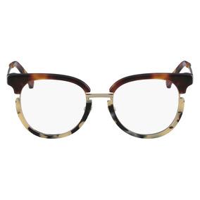 Óculos De Grau Calvin Klein Ck8061 245/50 Tartaruga Creme