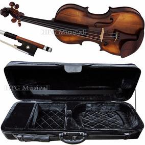 Violino Rolim Master Escuro Case Kloss Preto Arco Octogonal
