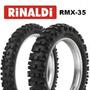 Cubierta 120 90 18 Rmx35 Rinaldi Crf 450 Wr 450 Beta 525 Bmw