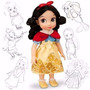 Princesa Blancanieves Animator Original Disney Store