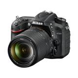 Camara Reflex Nikon D7200 Kit 18-140mm Full Hd 24,2mp Wifi