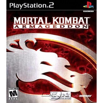 Mortal Kombat: Armageddon Patch Para Ps2 Desbloqueado
