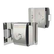 Fechadura Elétrica Para Portas De Vidro Agl Com 2 Cilindros