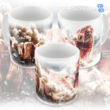 Caneca Shingeki No Kyojin - Attack On Titans