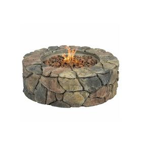 Bcp Piedra Diseño Fire Pit Home Patio Fogata Estufa De Gas