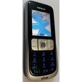 Celular Nokia 2630b Nacional Preto Vivo - Usado