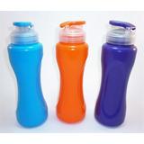 Termos Cooler D Agua Plastico Niños Colegio Gym Deportes 800