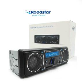Stereo Auto Roudstar C/ Parlante 5w Usb Pendrive Radio Mp3