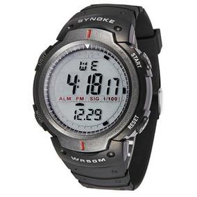 Relógio Masculino Synoke Wr50m Digital Pulso Cód.083