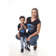 Kit Tal Mãe Tal Filho Camisetas Ctrl-c & Ctrl-v.